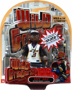 Wild Grinders Action Figure & Board Jay Jay