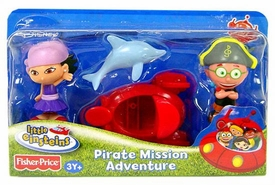 Little Einsteins 4 Inch Figure 2-Pack Pirate Mission Adventure