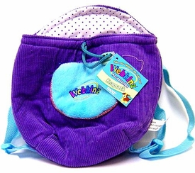 Webkinz Plush Accessory Purple Knapsack