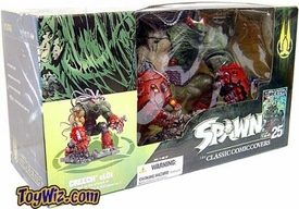McFarlane Toys Spawn Classic Covers Series 25 Action Figure Box Set Creech 2