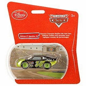 Disney Pixar CARS Exclusive 1:48 Die Cast Car Dirkson D'Agostino #34 [Trunk Fresh]