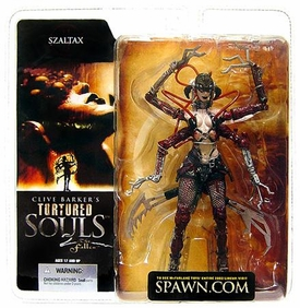 McFarlane Toys Clive Barker's Tortured Souls 2 The Fallen Action Figure Szaltax