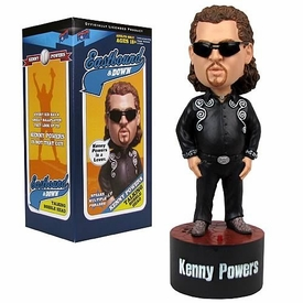 Bif Bang Pow! Eastbound & Down Talking Bobble Head Kenny Powers [Black Outfit]