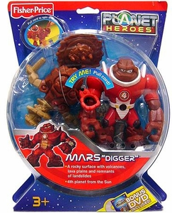 Planet Heroes Action Figure Mars Digger