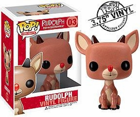 Funko POP! Rudolph the Red Nosed Reindeer Vinyl Figure Rudolph