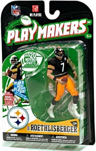 McFarlane Toys NFL Playmakers Series 1 Action Figure Ben Roethlisberger (Pittsburgh Steelers)