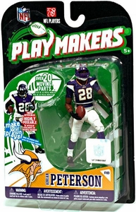 McFarlane Toys NFL Playmakers Series 1 Action Figure Adrian Peterson (Minnesota Vikings)