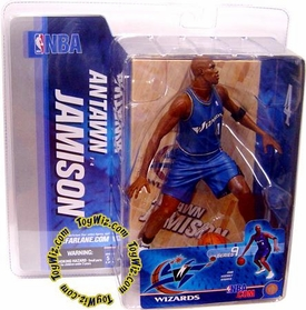 McFarlane Toys NBA Sports Picks Series 9 Action Figure Antawn Jamison (Washington Wizards) Blue Jersey BLOWOUT SALE!