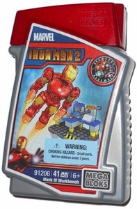 Marvel Mega Bloks Set #91206 Mark IV Workbench