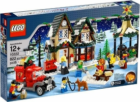 LEGO Exclusive Set #10222 Winter Village Post Office