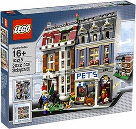 LEGO Exclusive Set #10218 Pet Shop
