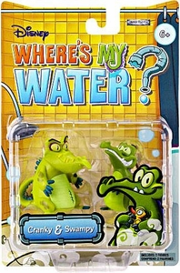 Where's My Water 2 Inch Mini Figure 2-Pack Cranky & Swampy