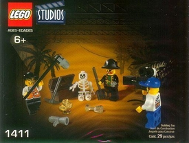 LEGO Studios Set #1411 Pirates Treasure Hunt