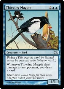 Magic the Gathering Tenth Edition Single Card Uncommon #115 Thieving Magpie