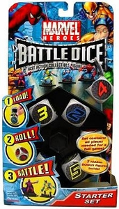 Marvel Battle Dice Starter Pack Set BLOWOUT SALE!