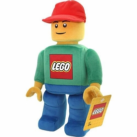 LEGO 12 Inch Articulated Plush Figure [Red Hat]