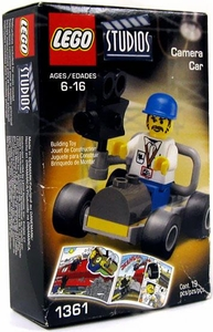 LEGO Studios Mini Figure Set #1361 Camera Car