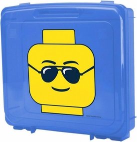 LEGO Project Case {RANDOM Color!} [Includes Base Plate]