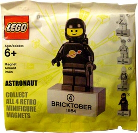 LEGO Exclusive 1984 Bricktober Magnet Retro Mini Figure #4 Astronaut