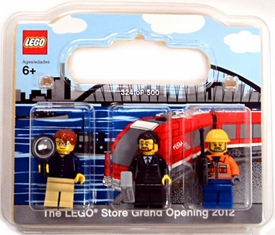 LEGO Exclusive Set #852766 LEGO Store Grand Opening 2012 Mini Figure 3-Pack