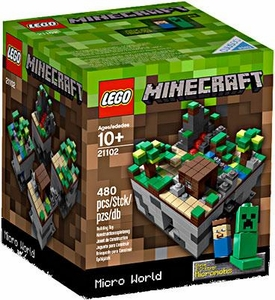 LEGO Minecraft Set #21102 Micro World