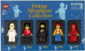 LEGO Bricktober 2012 Exclusive Set #5000438 Vintage Minifigure Collection Vol. 2
