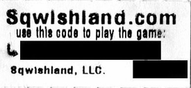 Sqwishland.com Virtual World Code