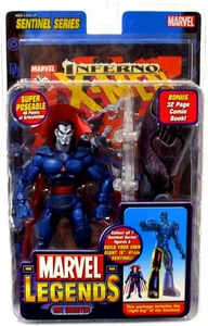 Marvel Legends Series 10 Action Figure Mr. Sinister [Sentinel Build-A-Figure]