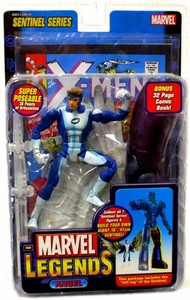Marvel Legends Series 10 Action Figure Angel X-Factor Variant [Sentinel Build-A-Figure]