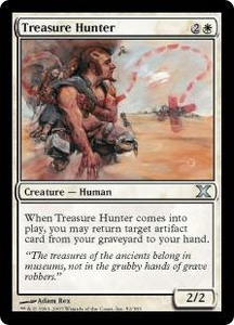 Magic the Gathering Tenth Edition Single Card Uncommon #52 Treasure Hunter