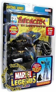 Marvel Legends Series 10 Action Figure Black Panther [Sentinel Build-A-Figure]