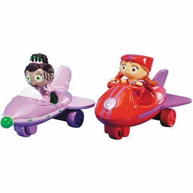 Super Why Vehicles Princess Presto & Wonder Red