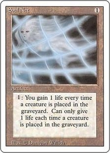 Magic the Gathering Revised Edition Single Card Uncommon Soul Net