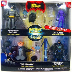 The Batman EXP Extreme Power Exclusive Action Figure Multi-Pack Knight Strike Batman, Catwoman, Penguin & Midnight Ninja Batman