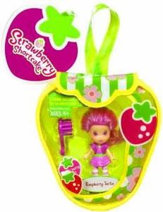 Strawberry Shortcake Hasbro Mini Doll in Purse Raspberry Torte [Version 1]