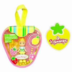 Strawberry Shortcake Hasbro Mini Doll in Purse Lemon Meringue [Version 2]