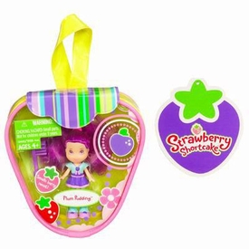 Strawberry Shortcake Hasbro Mini Doll in Purse Plum Pudding [Version 2]