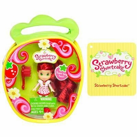 Strawberry Shortcake Hasbro Mini Doll in Purse Strawberry Shortcake  [Version 3]