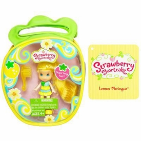 Strawberry Shortcake Hasbro Mini Doll in Purse Lemon Meringue [Version 3]