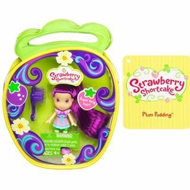 Strawberry Shortcake Hasbro Mini Doll in Purse Plum Pudding [Version 3]