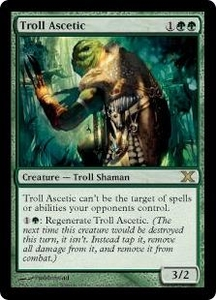 Magic the Gathering Tenth Edition Single Card Rare #305 Troll Ascetic