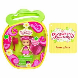 Strawberry Shortcake Hasbro Mini Doll in Purse Raspberry Torte [Version 3]