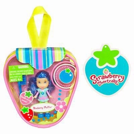 Strawberry Shortcake Hasbro Mini Doll in Purse Blueberry Muffin [Version 2]