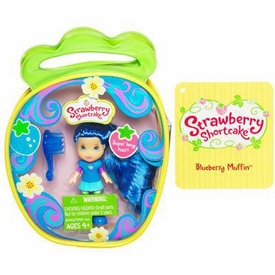 Strawberry Shortcake Hasbro Mini Doll in Purse Blueberry Muffin [Version 3]