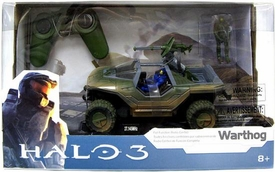 NKOK Halo Radio Control 8 Inch R/C Vehicle Warthog with Master Chief & Blue Spartan [Halo 3 Packaging]