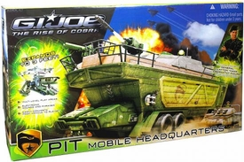 GI Joe Movie The Rise of Cobra Deluxe Vehicle Playset Pit Mobile Headquarters