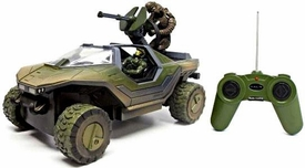 NKOK Halo Radio Control 8 Inch R/C Vehicle Warthog with Master Chief & Arbiter Halo Universe Packaging