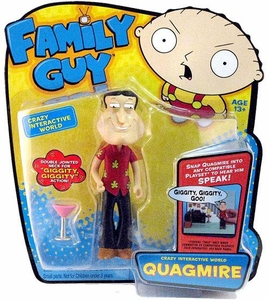 Playmates Family Guy Series 1 Voice Activated Action Figure Quagmire