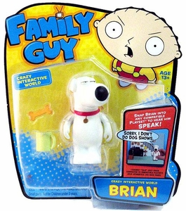 Playmates Family Guy Series 1 Voice Activated Action Figure Brian