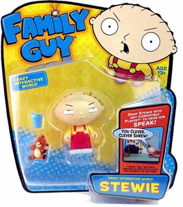 Playmates Family Guy Series 1 Voice Activated Action Figure Stewie